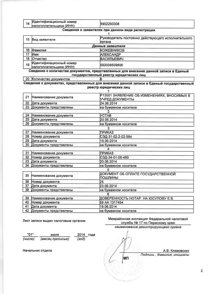 СимволикаЛист записи ЕГРЮЛ от 01.07.2014_01